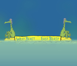 East Beast West Beast Wallpaper - Cool Dr Seuss Wallpaper