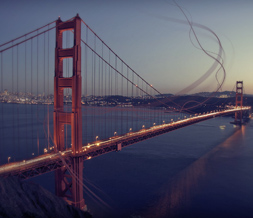 Cool Golden Gate Bridge Wallpaper - Pretty Scenic Background Image
