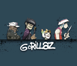 Free Gorillaz Wallpaper - Cool Gorillaz Band Wallpaper