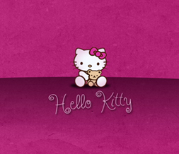 Maroon Hello Kitty Wallpaper - Cute Hello Kitty Wallpapers