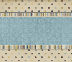 Blue Square Polkadot Wallpaper - Striped Vintage Wallpaper Download