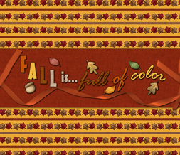 Fall is Full of Color Wallpaper - Autumn Leaves Background