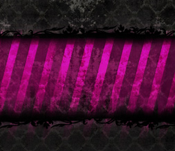 Pink & Black Grunge Wallpaper - Black & Pink Grunge Wallpaper with Skulls
