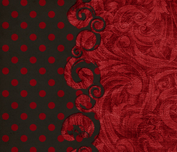 Red & Black Polkadot Wallpaper Download - Black & Red Polka Dot Background