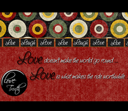 Red & Black Rustic Wallpaper Image - Black & Red Retro Wallpaper with Quote
