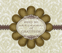 Thanksgiving Quote Wallpaper - Vintage Quote Background for Desktops & Mobile Phones