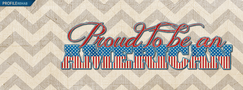 Proud to be an American Facebook Cover