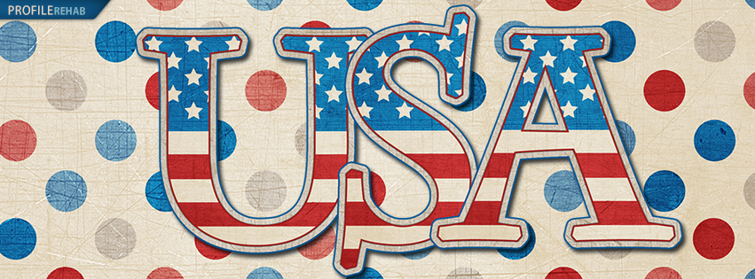 USA 4th of July Facebook Cover