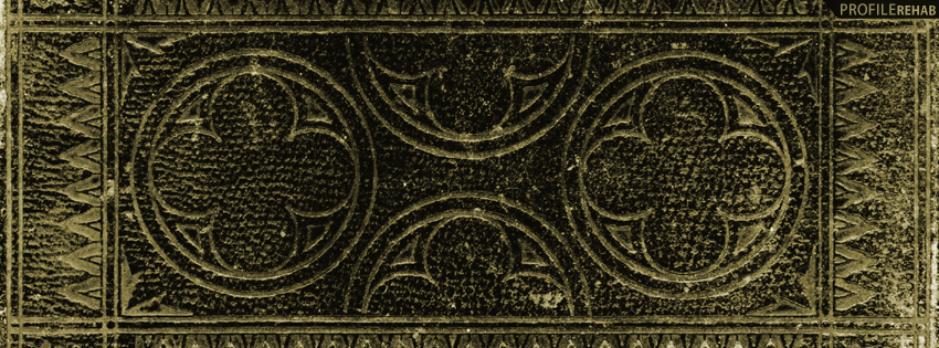 Black and Gold Abstract Facebook Cover