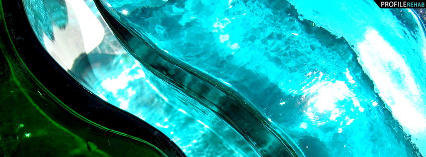 Blue Glass Facebook Cover