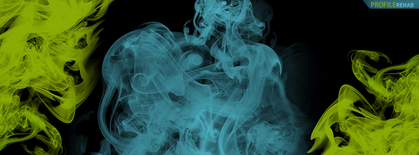 Colored Smoke Facebook Cover