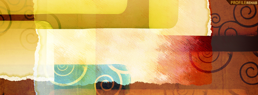 Colorful Abstract Facebook Cover for Timeline