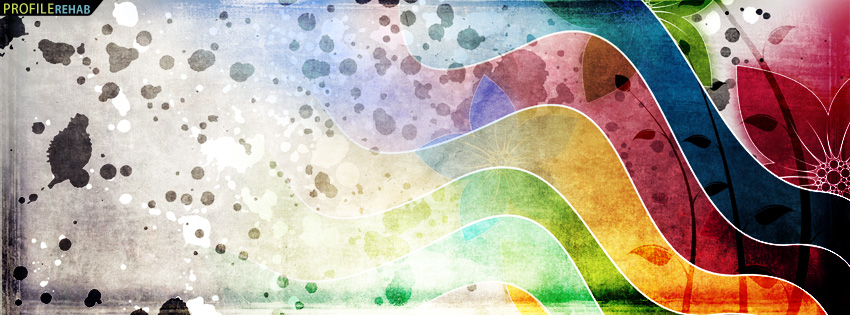 Multicolor Abstract Facebook Cover