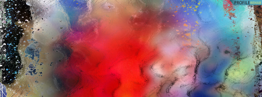 Colorful Abstract FB Cover for Timeline