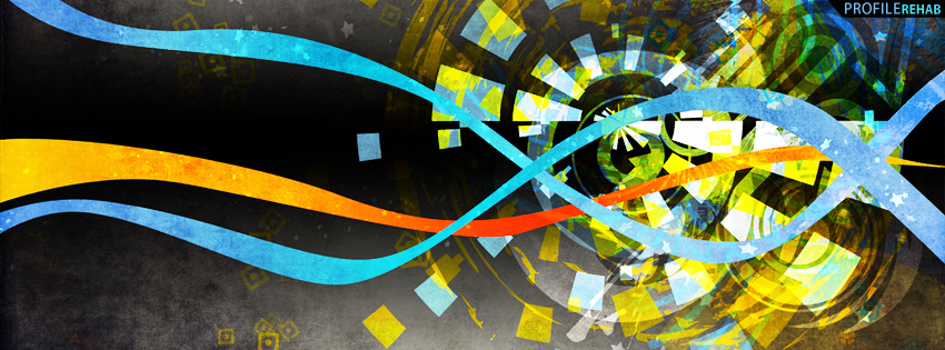 Multicolor Abstract Timeline Cover for Facebook