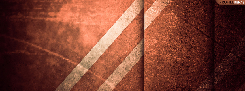 Orange Abstract Cover for Facebook Timeline
