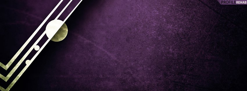 Purple Abstract Timeline Cover for Facebook