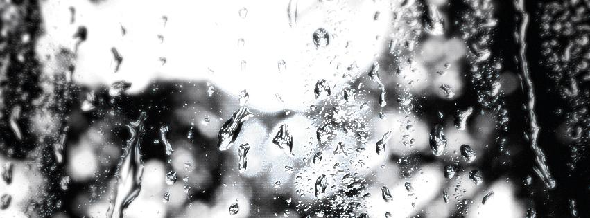 Rain Drops Facebook Timline