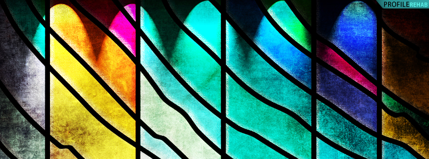 Stained Glass Window Facebook Cover