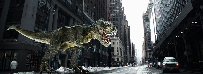 Tyrannosaurus Rex facebook cover