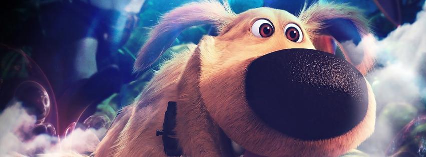 Pixars UP Dug Facebook Cover
