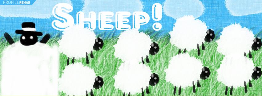 Sheep! Facebook Timeline Cover