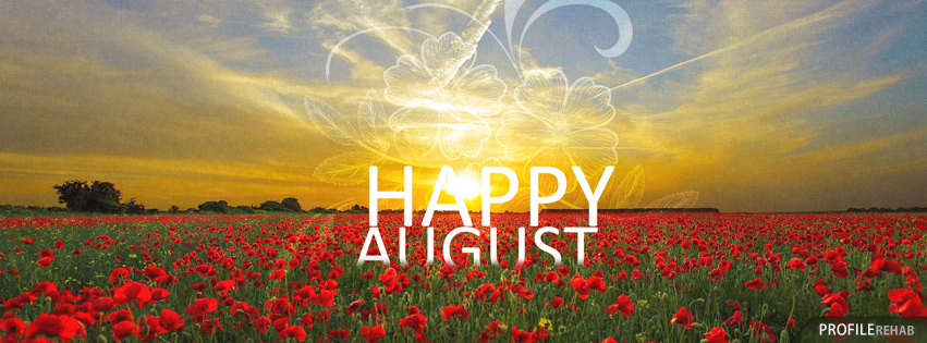 Happy August Images Free - Images of August for Facebook Covers Preview