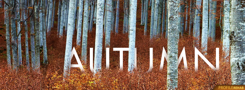 Free Autumn Facebook Covers that say Autumn - Autumn Pictures Free