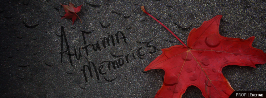 Autumn Memories Image - Free Autumn Images for Facebook Preview