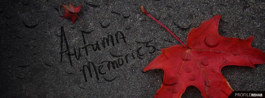 Autumn Memories Image - Free Autumn Images for Facebook