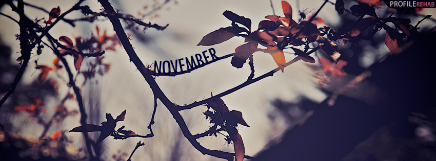 November Scenery Facebook Cover - November Picture - Images for November