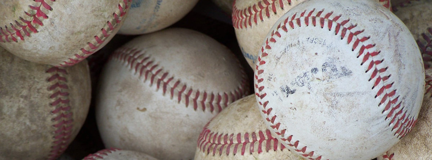 Cool Baseballs Facebook Cover for Timeline