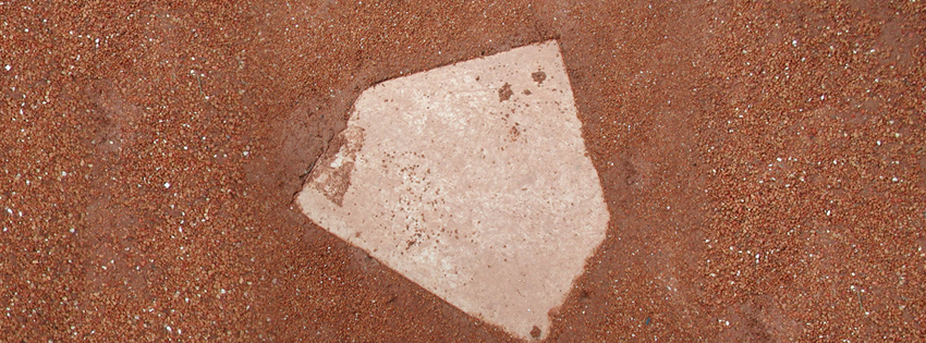 Baseball Home Plate Facebook Cover