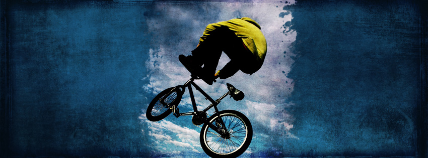 BMX Biking Facebook Cover