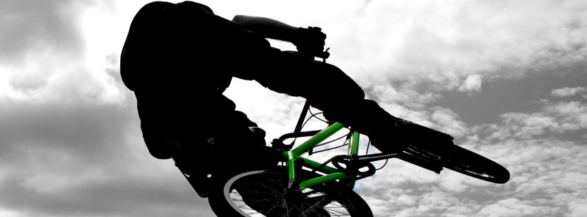 BMX Bike Facebook Cover Preview