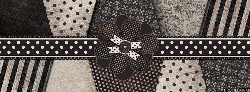 Black & White Vintage Facebook Cover