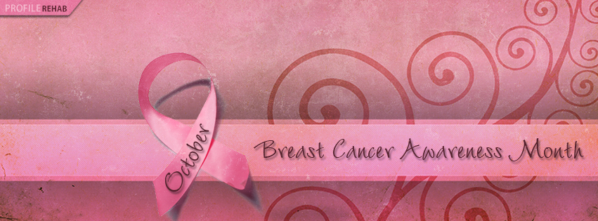 Breast Cancer Awareness Month Facebook Cover