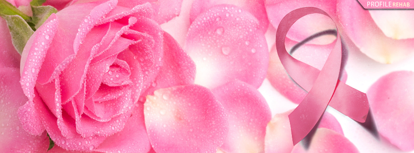 Breast Cancer Awareness Ribbon Facebook Cover - Breast Cancer Symbol Images