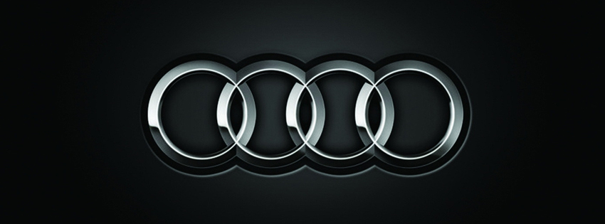Audi Car Logo Facebook Cover