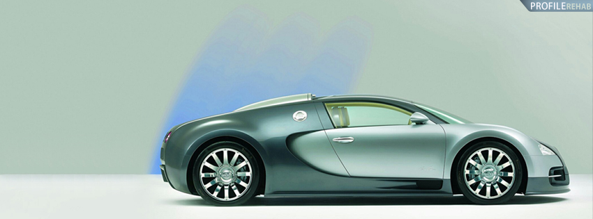 Bugatti Veyron Car Facebook Cover