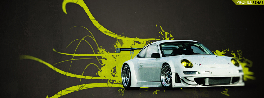 Cool Car Facebook Cover for Timeline