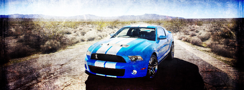 Ford Mustang Shelby Facebook Cover