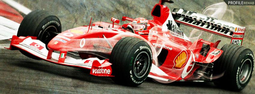 Forumla 1 Racing Facebook Cover