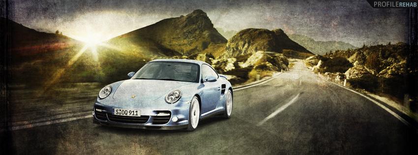 Grunge Porsche Facebook Cover