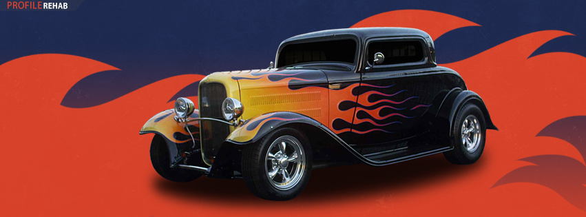 Hot Rod Facebook Cover Preview