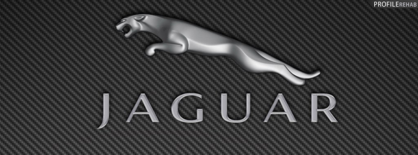 Gray Jaguar Logo Facebook Cover