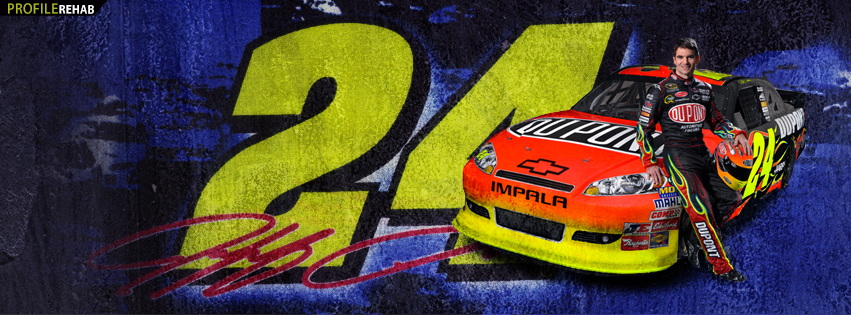 Jeff Gordon Timeline Cover