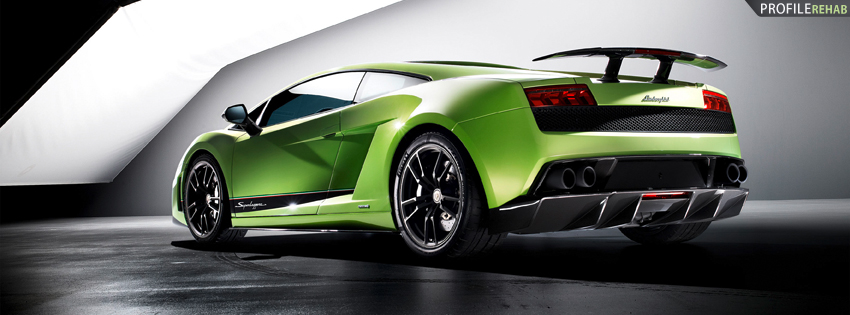 Cool Lamborghini Cover for Facebook