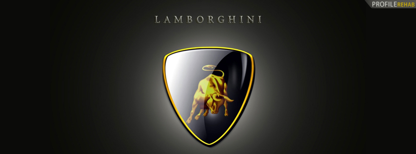 Lamborghini Car Logo Facebook Cover