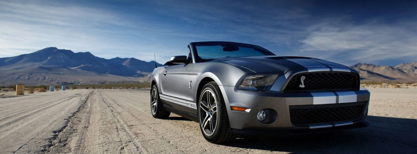 Mustang Shelby Facebook Cover